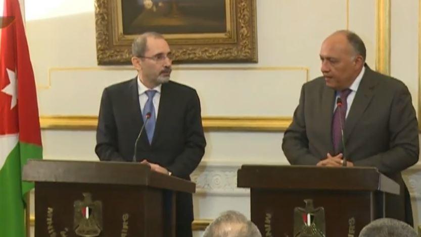 مصر والأردن يؤكدان ضرورة وقف إسرائيل الاستفزازات بالقدس